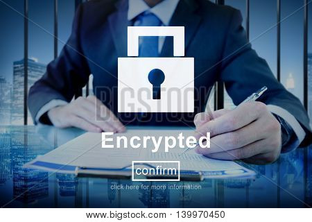 Encrypted Hidden Protected Information Concept