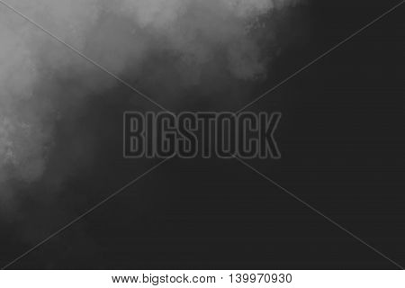 Black and white abstract powder explosion background design
