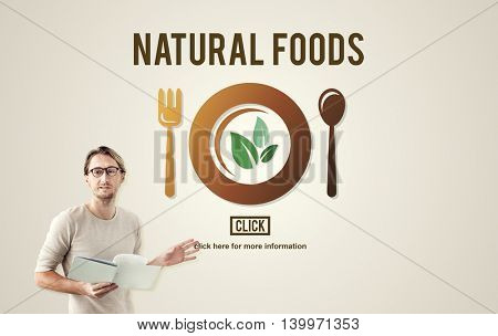 Natural Food Organic Healthy Health Concept