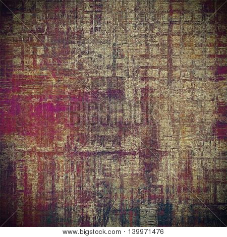 Hi res grunge texture or retro background. With different color patterns: yellow (beige); brown; gray; black; red (orange); purple (violet)
