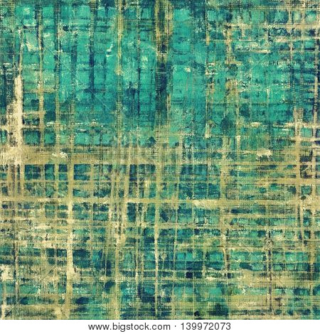 Highly detailed grunge background or scratched vintage texture. With different color patterns: yellow (beige); brown; gray; green; blue; cyan