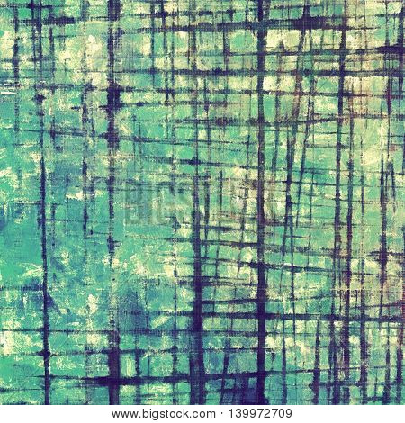 Grunge background for a creative vintage style poster. With different color patterns: yellow (beige); gray; green; blue; cyan