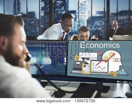 Economics Banking Finance Loan Money Concept