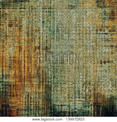 Grunge background for a creative vintage style poster. With different color patterns: yellow (beige); brown; gray; green