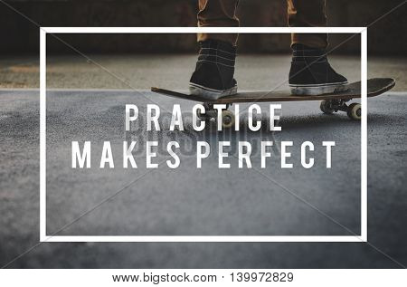 Practice Perfect Method Operation Rehearsal Concept