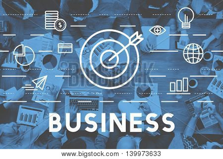Business Commercial Corporate Enterprize Growth Concept