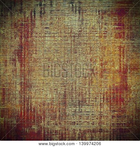 Decorative vintage texture or creative grunge background with different color patterns: yellow (beige); brown; gray; red (orange); purple (violet); pink