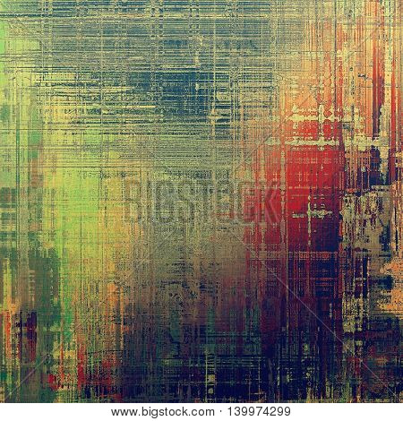 Art vintage texture, decorative grungy background. With different color patterns: yellow (beige); brown; green; blue; red (orange); purple (violet)