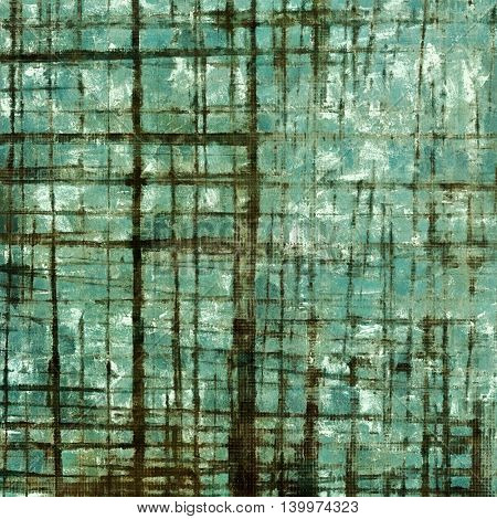 Abstract grunge background or damaged vintage texture. With different color patterns: brown; gray; black; green; blue; cyan