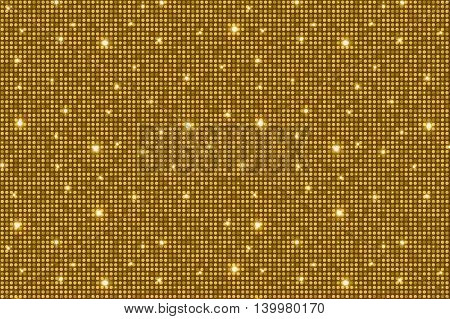 Brown Shining Rounds Vintage Luxury Texture Background