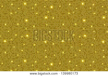 Yellow Shining Rounds Vintage Luxury Texture Background