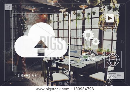 Start up Home Office Creativity Startup Concept