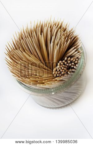 Toothpick In A Glass