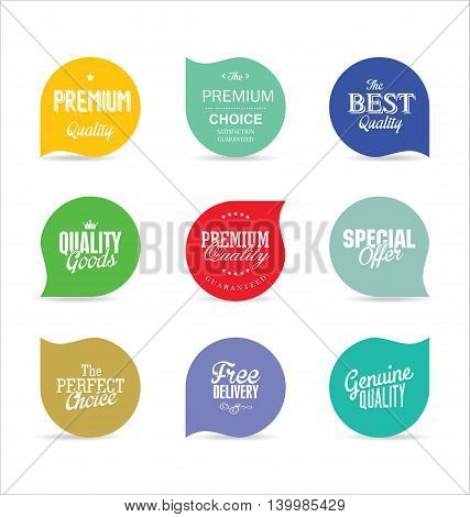 Modern Badges And Labels Collection 9.eps