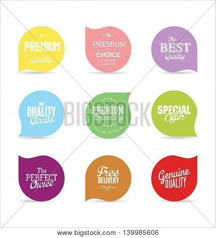 Modern Badges And Labels Collection 4.eps