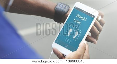 Weight Management Exercise Fitness Healthcare Concept