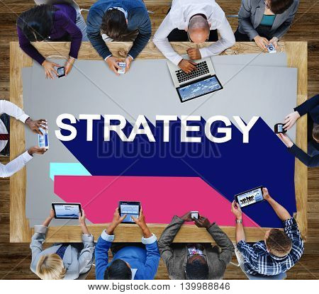 Strategy Motivation Operation Planning Progress Concept