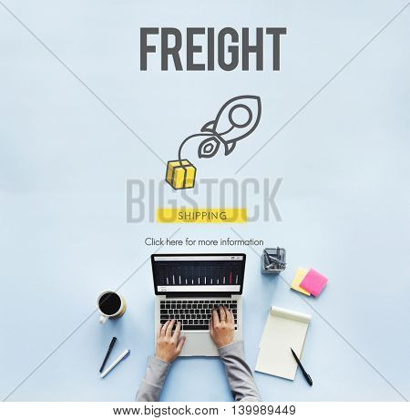 Freight Logistic Cargo Manufacturing Concept