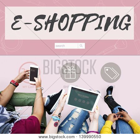 E-shopping Buy Online Internet Store Concept