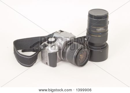 Slr Camera And Lens