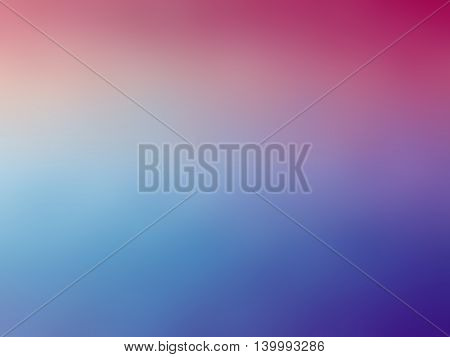 Abstract pink blue purple colored blurred background.