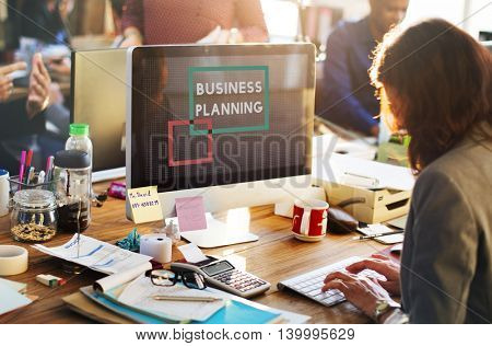 Business Planning Corporate Assessment Concept