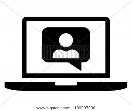 Videoconferencing icon