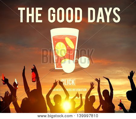 The Good Days Holiday Vacation Concept