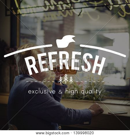 Refresh Energy Renew Restart Vision Rethink Concept
