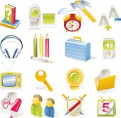 stock photo of maxim  - Vector objects icons set - JPG