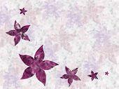 Floral Design Summer poster