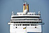 Cruise nautical tourist liner. poster