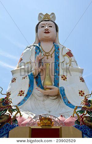 Kuan Yin Image Of Buddha Chinese Art.