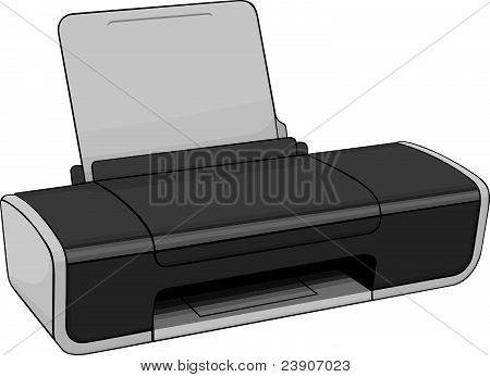 Color inkjet printer
