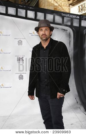 LOS ANGELES - SEPT 25:  Patrick Dempsey arriving at the