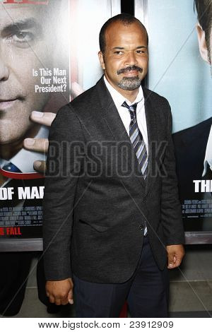 LOS ANGELES - 27 de SEPT: Jeffrey Wright al llegar a la