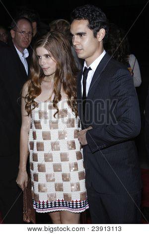 LOS ANGELES - SEPT 27:  Kate Mara; Max Minghella arriving at  the