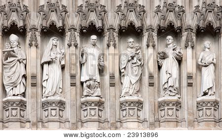 Westminster Abbey Statues