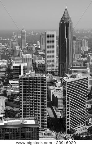 Black And White Atlanta