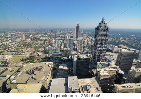 Aerial View of Atlanta