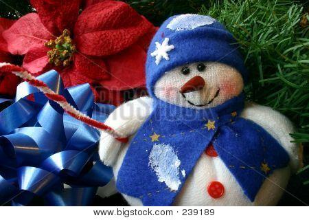 Small Stuffed Snowman