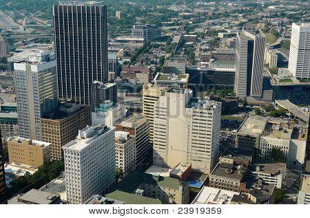 Paisaje urbano de Atlanta
