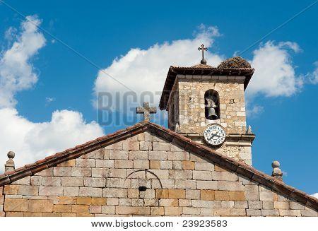 Medieval Church Pediment