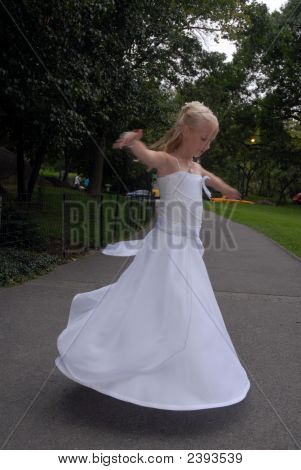 Floating Bridesmaid