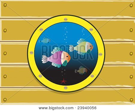 Submarine window