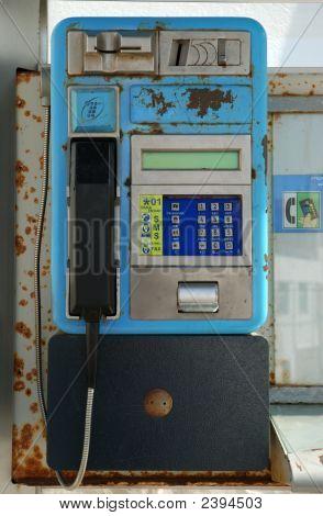 Phone Box In Spain