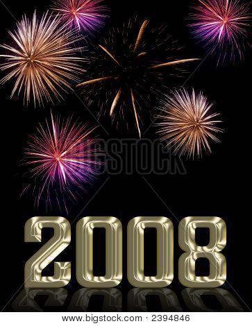 Firework Display And 2008