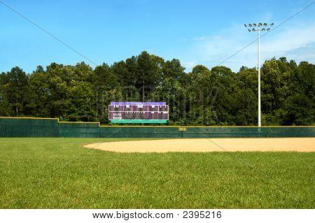 Marcador de campo de béisbol
