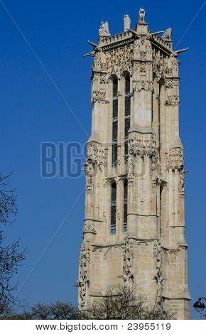 Saint-jacques Tower, Paris,