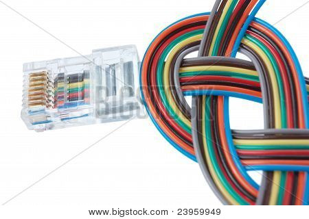 Multi Color Network Cable